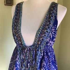 Gorgeous silk Camilla top